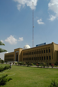 FAST-NU Main Campus, Karachi. FAST-NU is one of the premier institutions imparting technology education in Pakistan. Its computing graduates are recognized world-wide.   Website: http://khi.nu.edu.pk