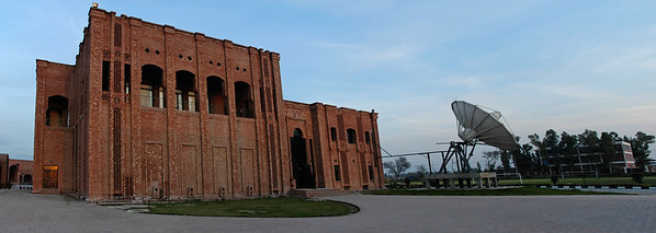 Panoramic view of the Campus of VU. The Virtual University, Pakistan's first University based completely on modern Information and Communication Technologies, was established by the Government as a public sector, not-for-profit institution with a clear mission: to provide extremely affordable world class education to aspiring students all over the country. Using free-to-air satellite television broadcasts and the Internet, the Virtual University allows students to follow its rigorous programs regardless of their physical locations.