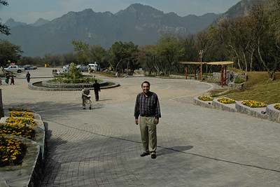 Suchit Nanda at Marghallas Hills. Islamabad, Pakistan
