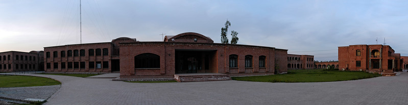 Panoramic image of the Campus of VU. The Virtual University, Pakistan's first University based completely on modern Information and Communication Technologies, was established by the Government as a public sector, not-for-profit institution with a clear mission: to provide extremely affordable world class education to aspiring students all over the country. Using free-to-air satellite television broadcasts and the Internet, the Virtual University allows students to follow its rigorous programs regardless of their physical locations.