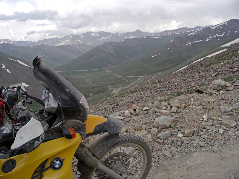 View towards Gittidas from new jeep track to Chilas