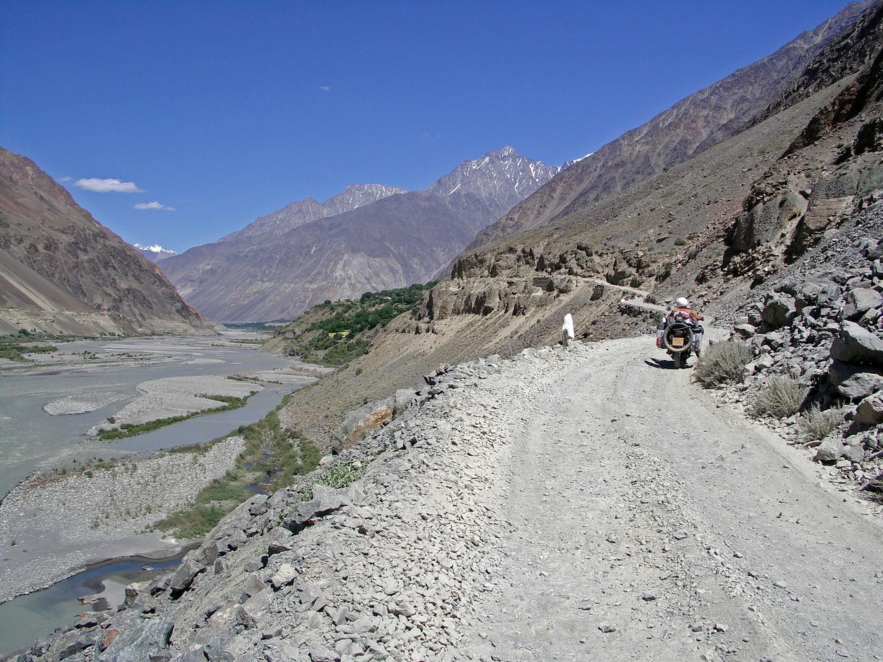 Chitral - Shandur Pass road