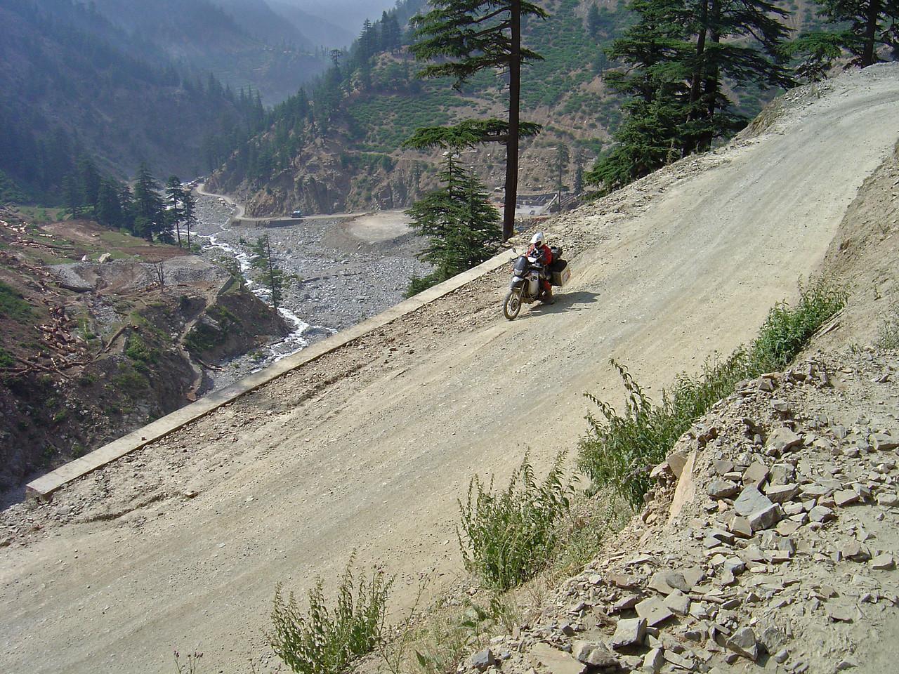 Lowari Pass - north side
