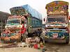 Pakistani truck drivers