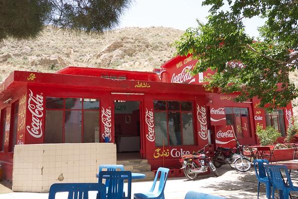 Red! (Refreshment shop, Quetta, Pakistan)
