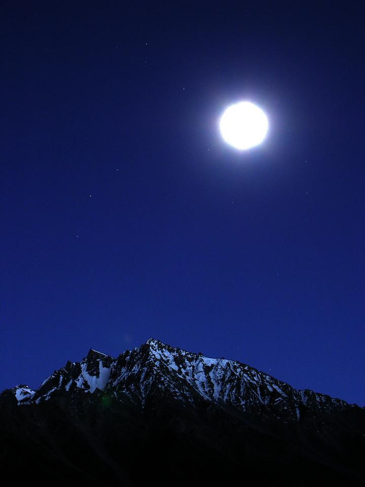 Moonlight on the Shandur Pass