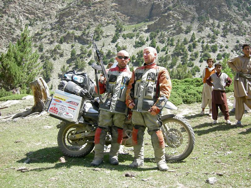 Babusar Pass ascent