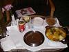 Chicken Biryani and Hot Gulab Jamon.  Smack.