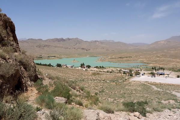 The whole lake