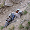 Recovering Pauls bike.  Road to Nanga Parbat