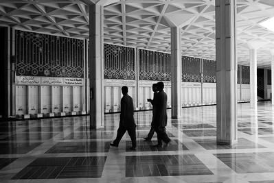 Abolution area (Faisal Mosque, Islamabad)