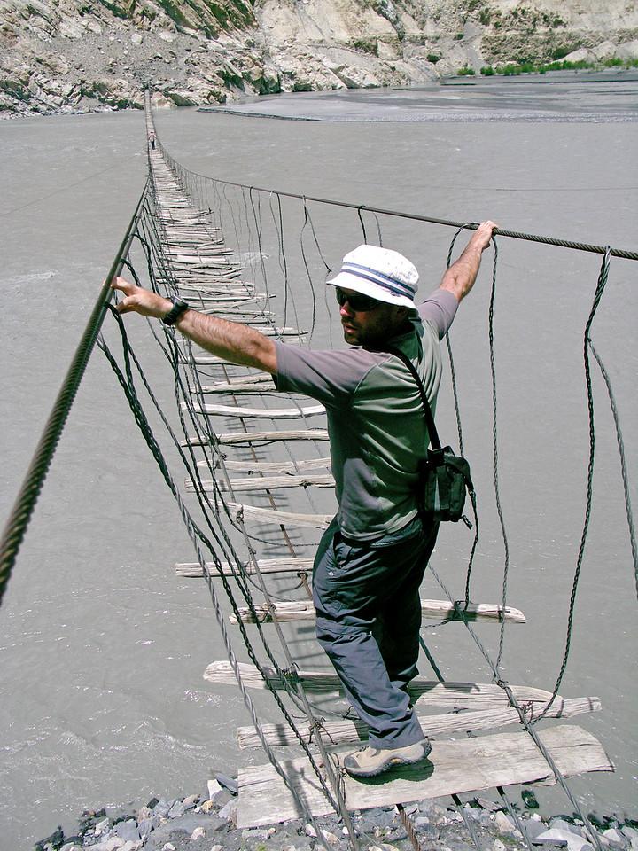 Shispur Bridge, Passu