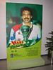 "Poster of a squash guy.  Sorry: ""Hero""."