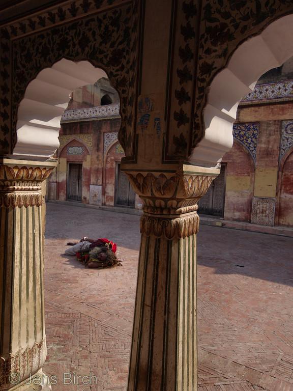 Wazir Khan mosque in Lahore