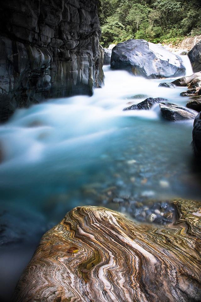 Those rocks were just beautiful.