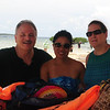 This Filipina has been living in Kentucky for the past 17 years, married to her husband, a county sheriff. He had recently passed away, so she was back in the Philippines to visit with her relatives. They were all on Palawan vacationing together.