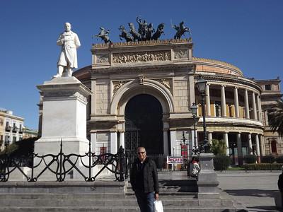 Palermo, Sicily - February, 2014