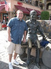 Downtown Palm Springs with Sonny Bono.