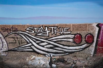 Stay True Graffiti 6704