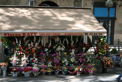 La Rambla Flower Stall