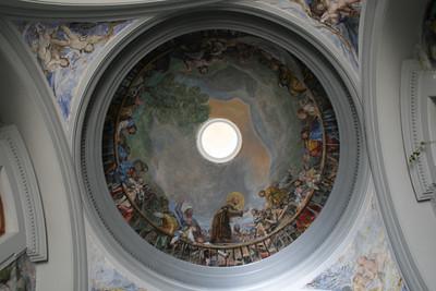 Poble Espanol Ermita S Antonio Roof