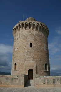 Castell Bellver Tower2