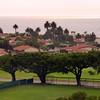 Coastal view of Rancho Palos Verdes, California.