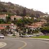 Estates view of Rancho Palos Verdes, California.