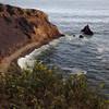 Coastal and cliff view at Rancho Palos Verdes, California.