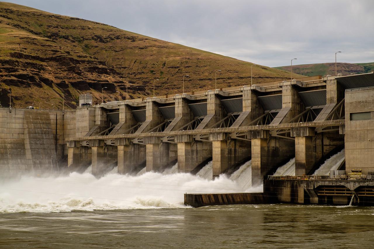 Lower Granite Dam of the Snake