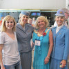Dori Holaday, Lora, Cinda Belozer, and Marilyn Murphy at registration.