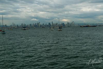 Coastline Panama City, Panama