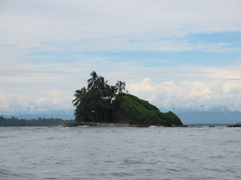 Bird Rock, discovered by Cristobal Colón, or as the gringos call him, Christopher Columbus.