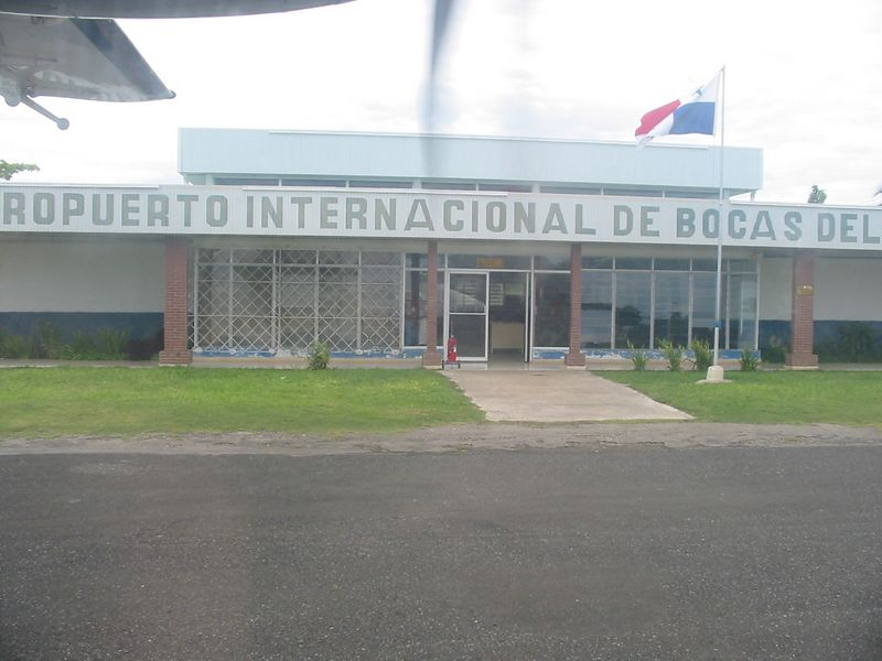 Bocas Airport, with flights to Panama City and David
