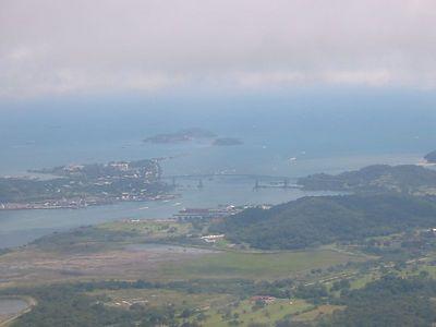 Flying to Panama City