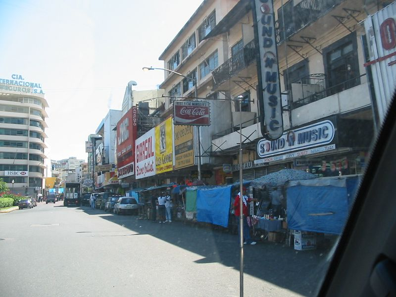 A street in Panama City