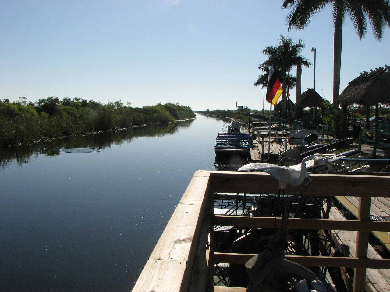 The Airboat Dock