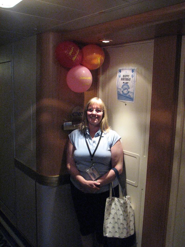 Karens B-Day baloons