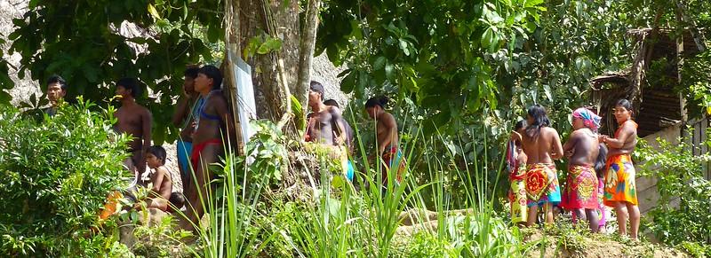 Visit to Embera tribal village outside Panama City