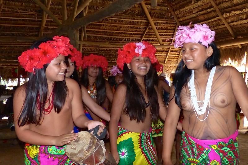 Embera dancers