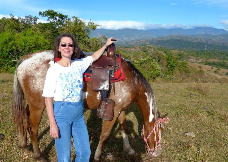 Cowgirl at Caldera, near Boquete