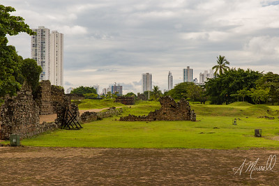 Ruins of Old Panama; Panamá Viejo
