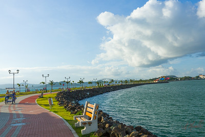 The Amador Causeway is the second longest boardwalk in the city. Bike rentals, walking, observation points, entrance to Panama Canal Pacific side, Restaurants.   It is also jumping off points to Taboga, Contadora islands and Panama Canal transit tours.