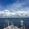 At sea headed to Ecuador.