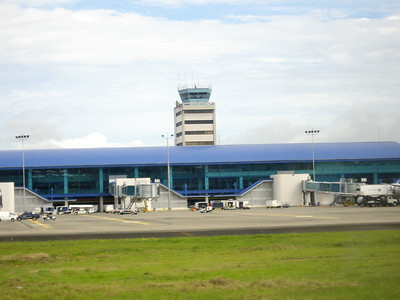 Welcome!  The Tocumen International airport Terminal, Panama City, Panama.