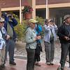 Joya, Joe, Eleanor, Irene, Jan and Jacob birding at Los Quetzales.