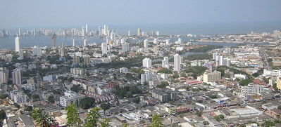 Cartagenia is quiet a large city with about 3 million residents.