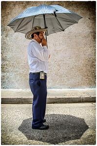 Our tour guide, Duran Duran.  Wonderful tour in Cartagena.