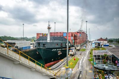 Panama Canal visitors center at Gatun Locks