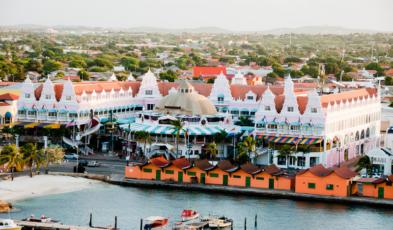 • Aruba<br /> • View from the Coral Princess
